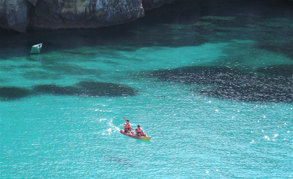 Alquiler de kayaks en Menorca
