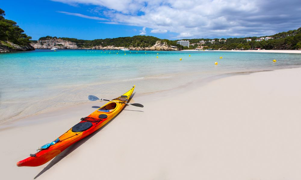 Explorar Menorca en kayak