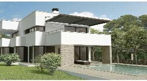 Bonita Villa en construcción con gran terraza con vistas al mar en Son Vitamina