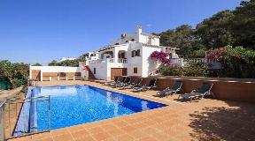 Maravillosa casa familiar al sur de Menorca en la localidad turística de Son Bou