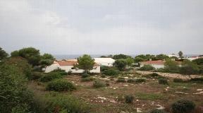 Bonita parcela en Binidali con vistas al mar