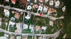 Terreno edificable con la posibilidad de construir una gran villa en Benidali
