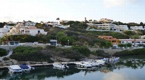 Terreno edificable en Mahon con vista al mar y al puerto