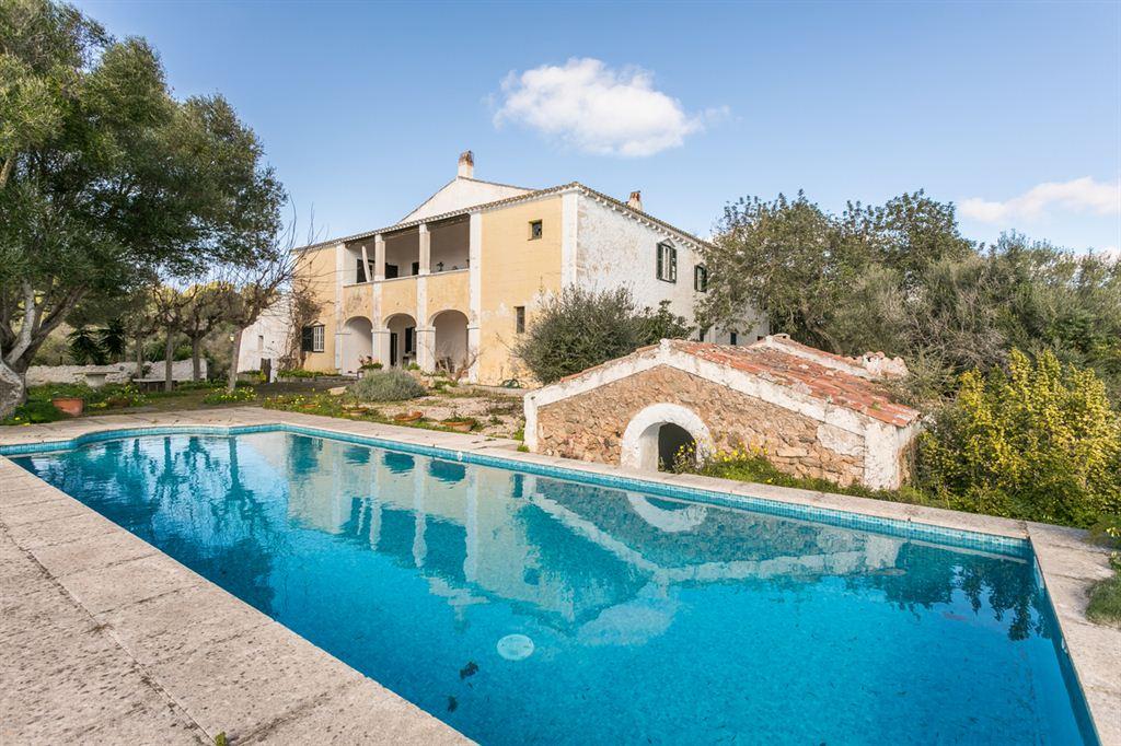 Increíble villa señorial construida en 1789 en Mahon