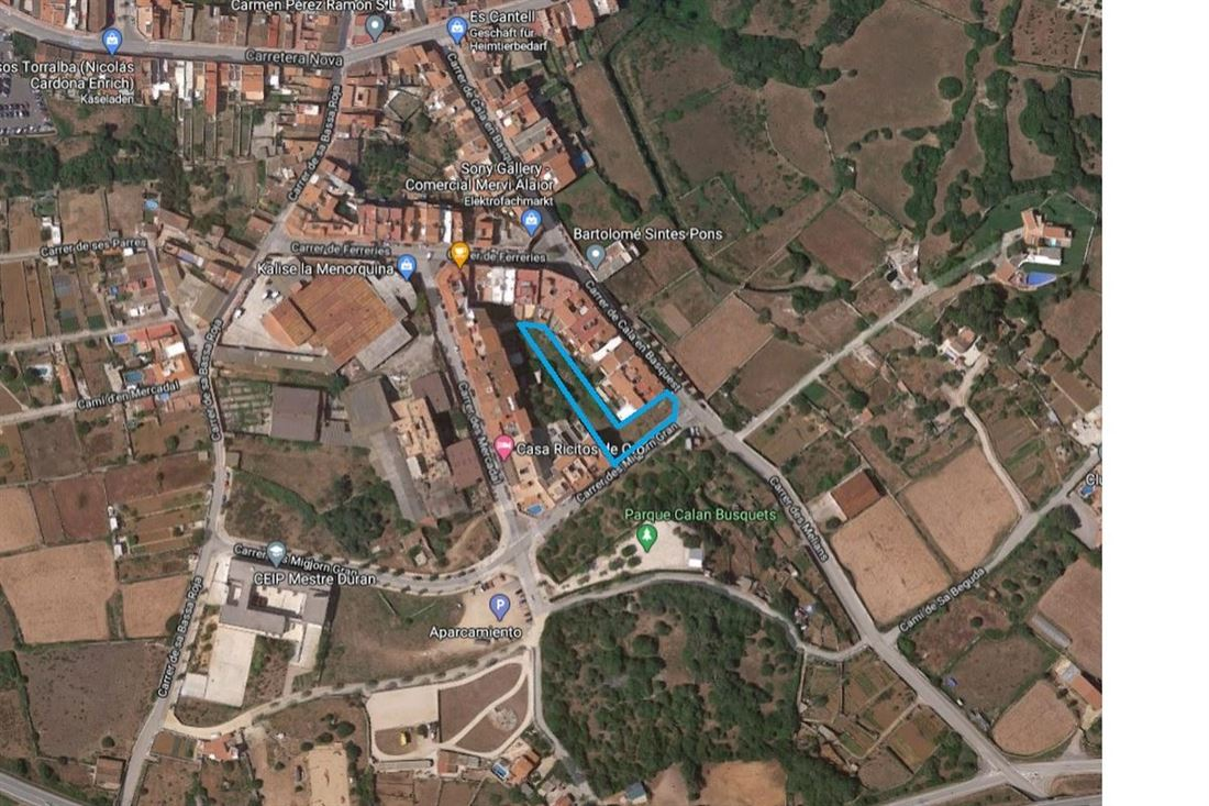 Gran terreno urbanizable con muchas posibilidades en el sur de Alaior