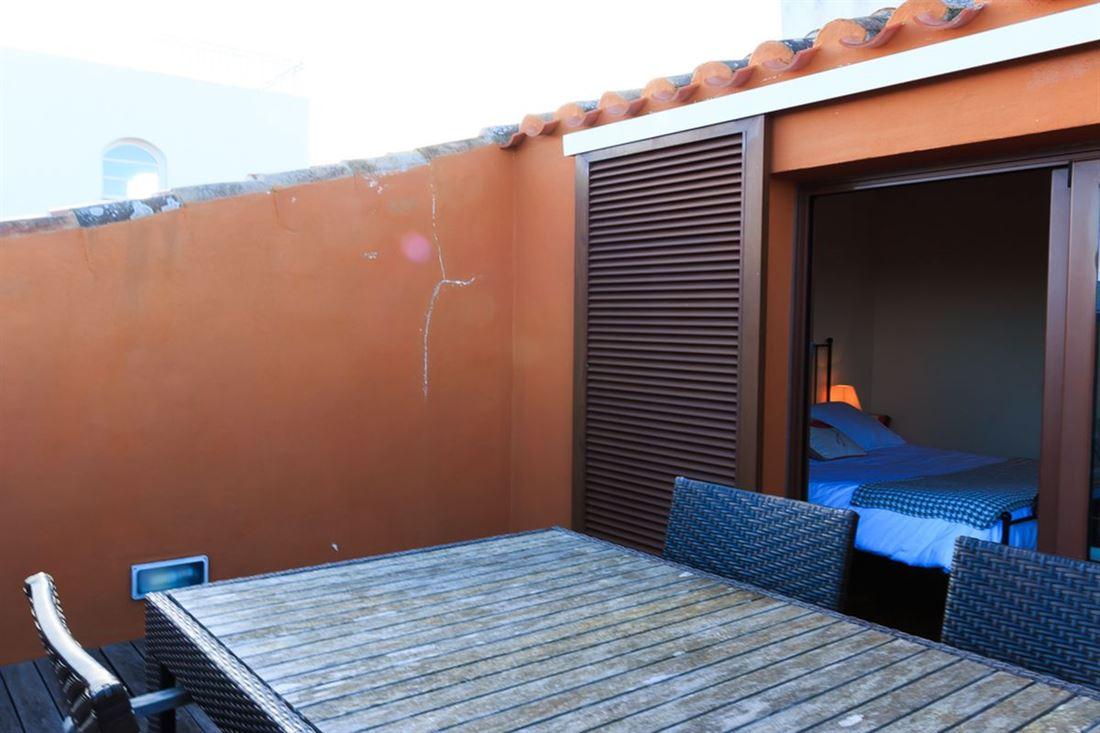 Elegante ático dúplex en el centro de Mahón con 2 balcones